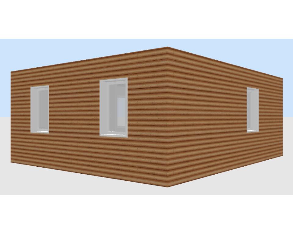 Container Individual Ferienhäuser modular