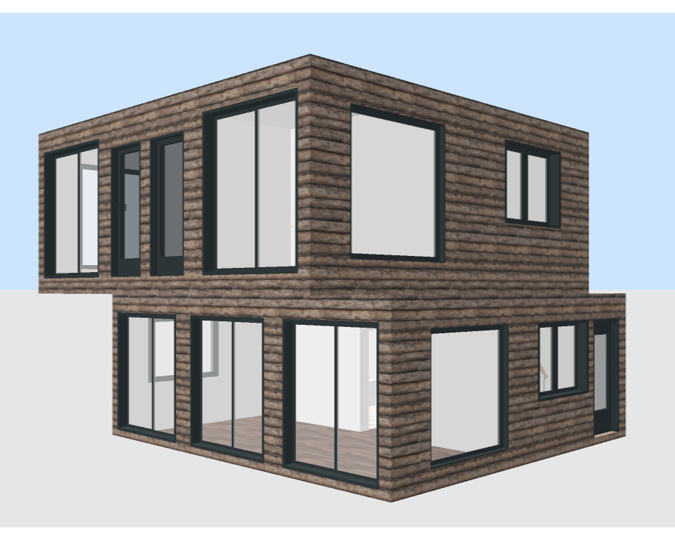 Container Individual Wohnhäuser modular