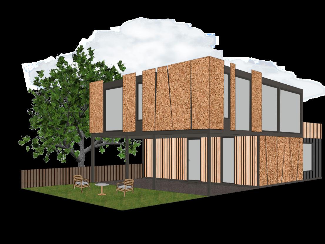 Container Individual Wohn- und Ferienhäuser