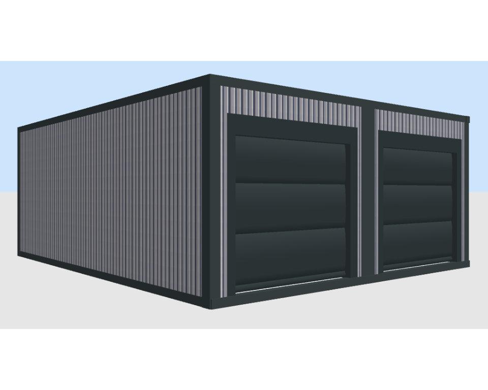 Container Individual Garage modular