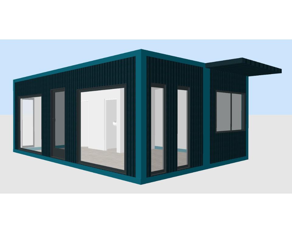 Container Individual Imbiss modular