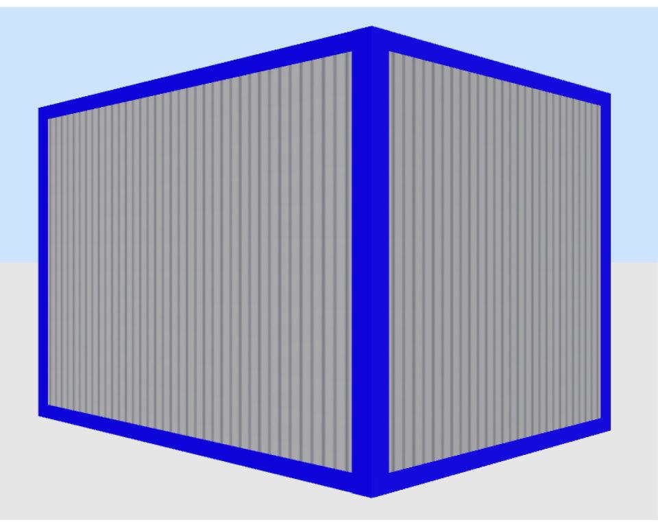 Container Individual Sanitär modular