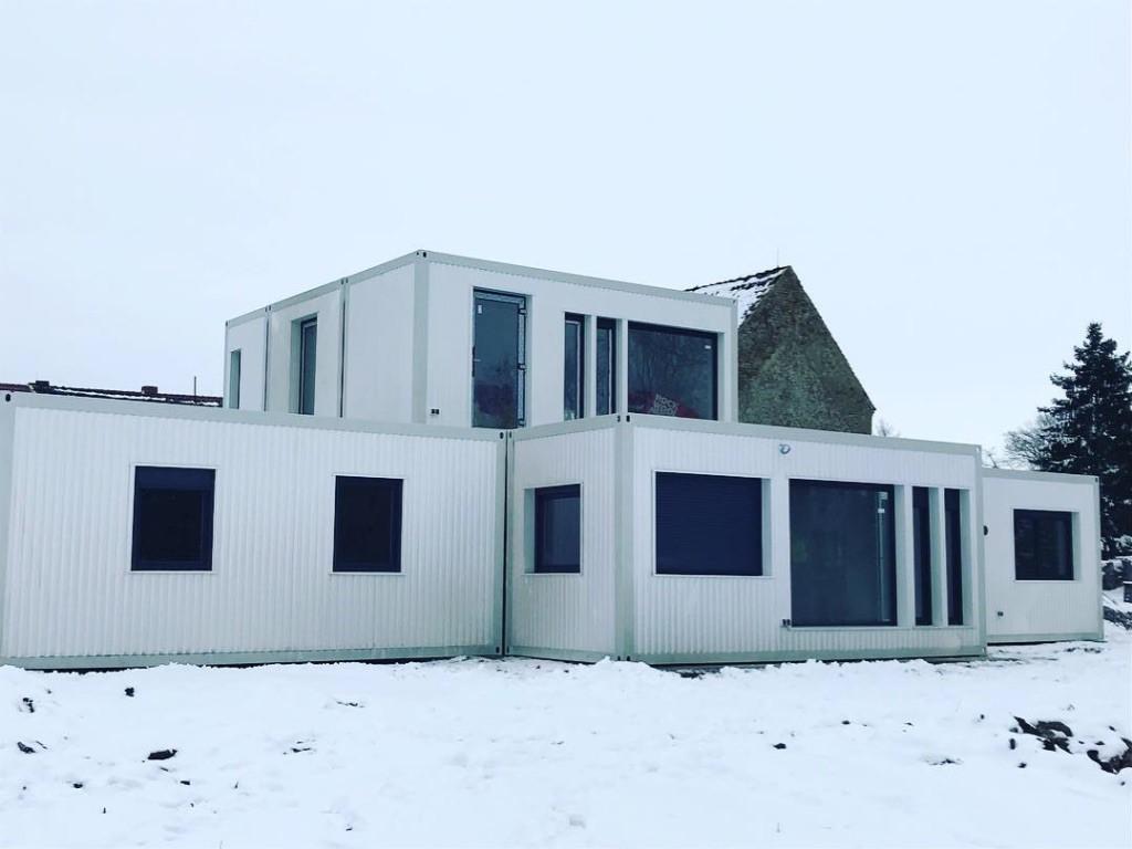 Container Individual Wohnhaus